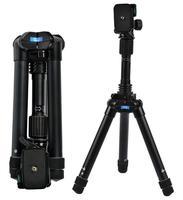 velbon UT 53Q Tripod Professional Portable Travel Aluminum Camera Tripod&Pan Head for SLR DSLR Digital