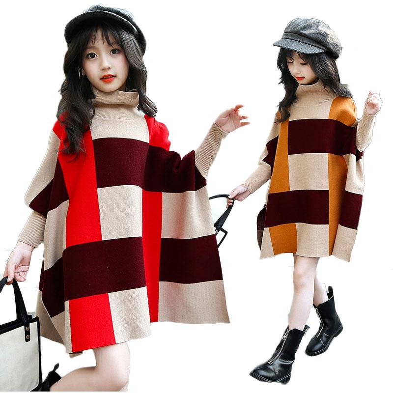 V-TREE Autumn and spring geometric children outerwear kids jackets & knit coats baby clothing cardigan jackets for girls stylish geometric pattern tassel cardigan