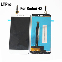 100 Tested 5 0 For Xiaomi Redmi 4X LCD Display Touch Screen Digitizer Panel Glass Screen