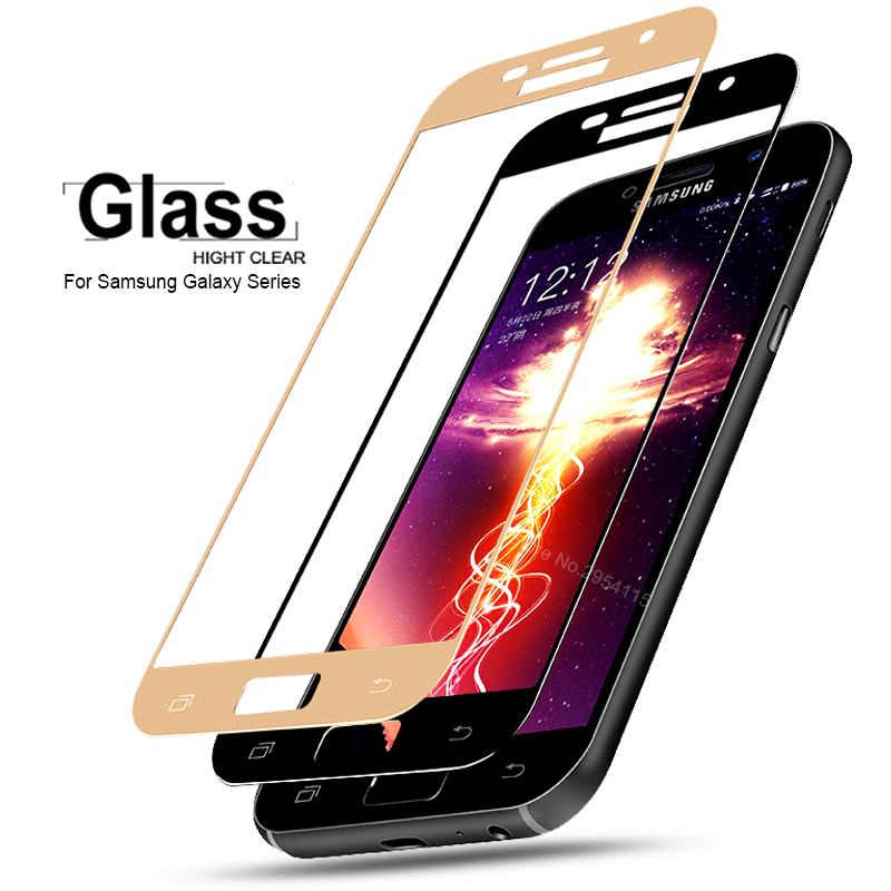 a7 2017 case for samsung a7 2017 glass tempered for samsung galaxy a5 2017 coque a3 2017 Screen Protector film cover a520 a720