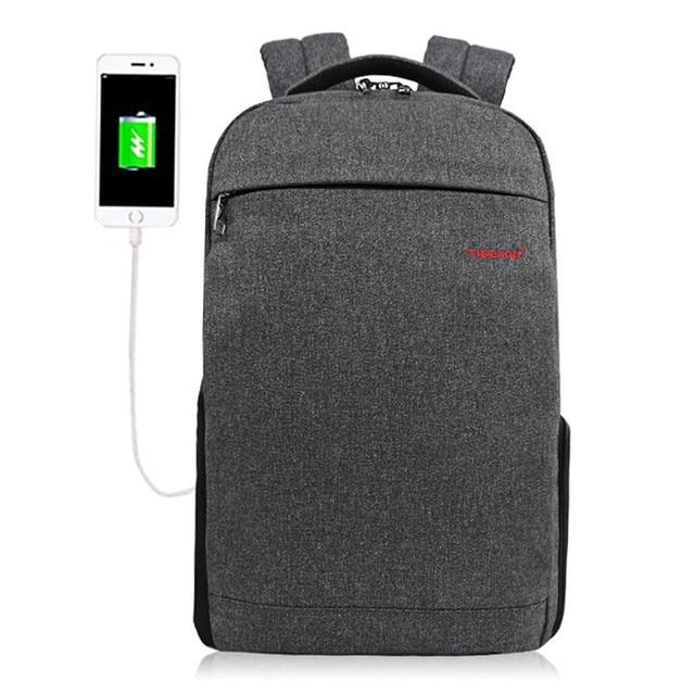 Tigernu T - B3217 Wear-resistant USB Port 20L Leisure Backpack 14 inch Laptop Bag