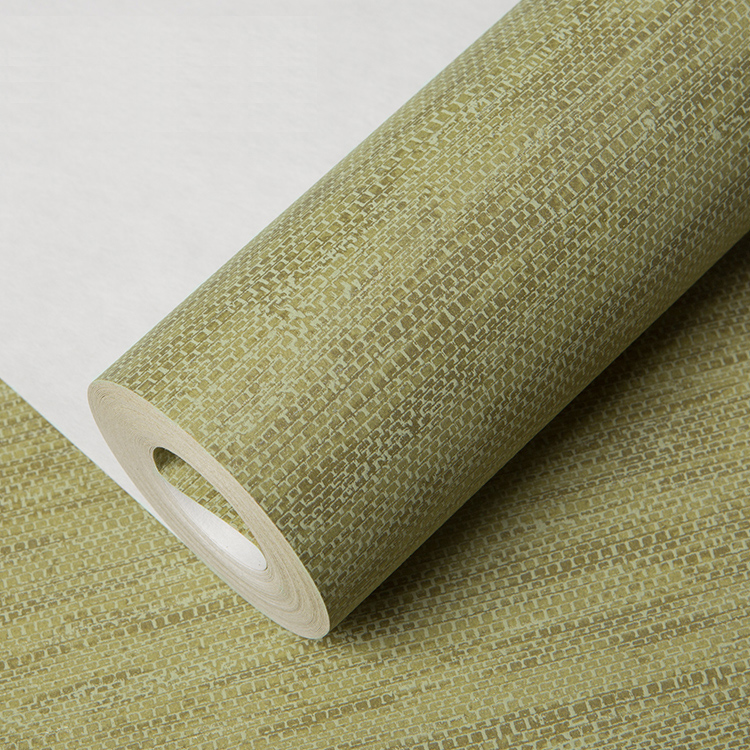 Купить с кэшбэком PAYSOTA New Chinese Brown Plain Color Non-woven Wallpaper Modern Simple Living Room Bedroom TV Wall Background Wall Paper Roll