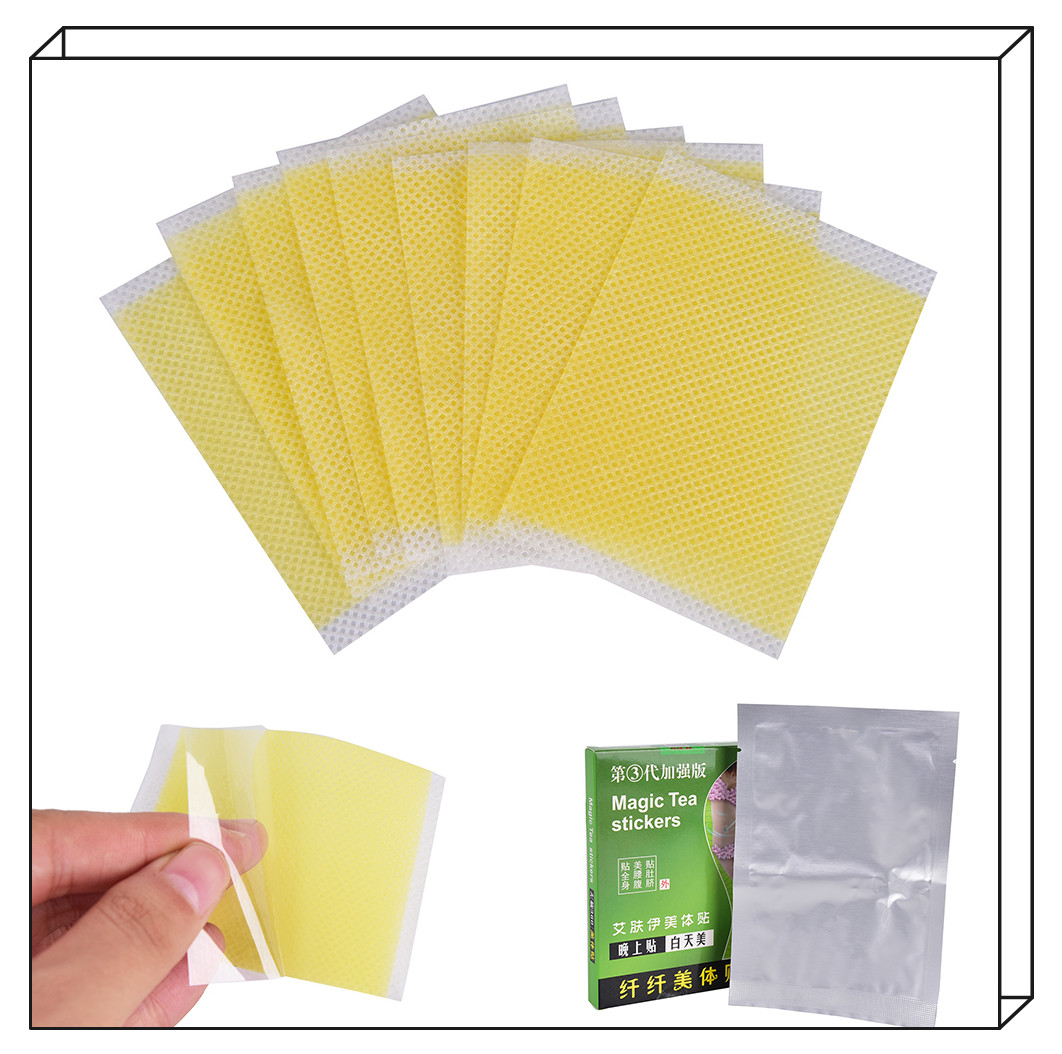 10Pcs Lose Weight Navel Paste No-Diet Weight Loss Safe Slimming Products Slim Patch Sheet Health Fast Slimming Diet Products