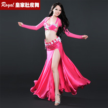 Sexy Package Hip Skirt Belly dance Suit Professional Bellydance Dress Suit Big Expansion Full skirt Performance Costume Set