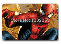 Free Ship 2015 New Design Custom Doormats Stylish Coussin Avenger Bedroom Carpets Hero Spider Man Durable