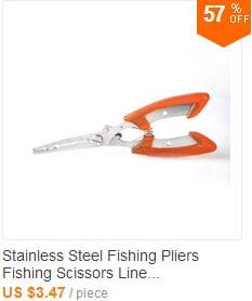 De Pesca de Alumínio Conjunto De Ferramentas De Pesca