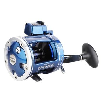 Metal Left/Right handle Casting Sea Fishing Reel Saltwater Baitcasting Reel Coil 12 Ball Bearings Cast Drum Wheel