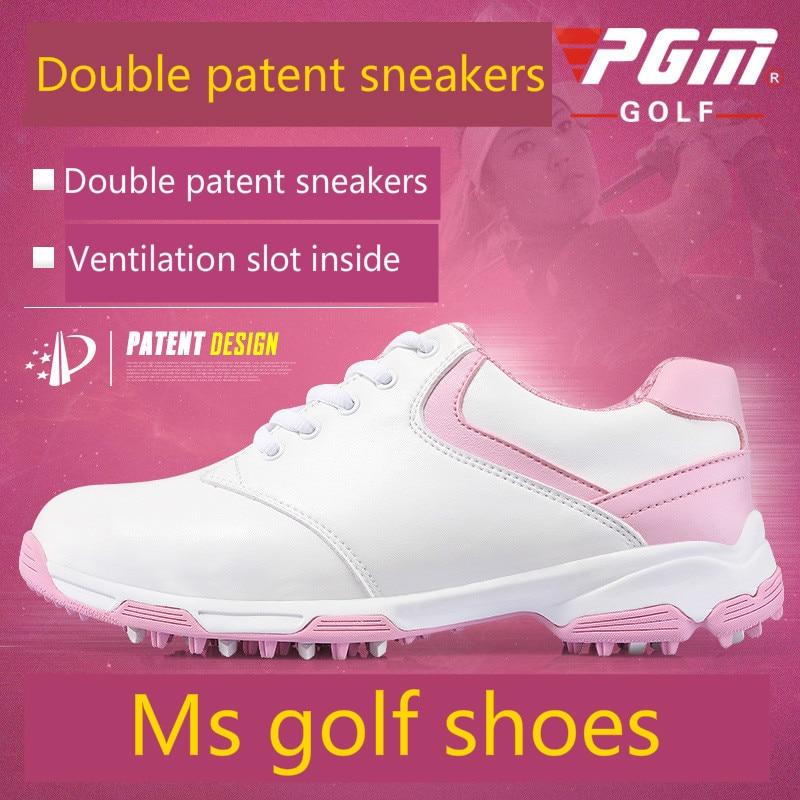 c2d58ad2d084 2018 PGM golf shoes for women super waterproof breathable sneakers Super  light sport shoes