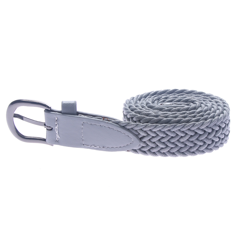 NEW Buckle   Belt   Waistband High Quality Woven Canvas Women's Braided High Quality