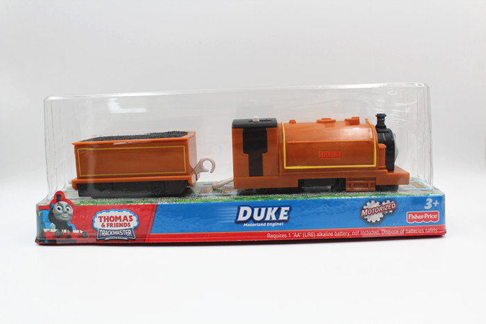 V1176 Thomas and friends DUKE trains Trackmaster plastic material engine toys children toy hooks are packed ...