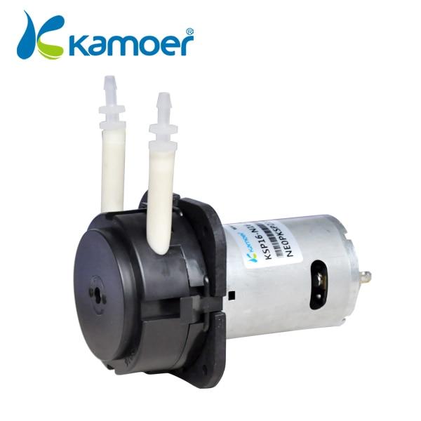 ФОТО Kamoer 24V DC motor  mini peristaltic pump