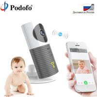 Podofo Wireless 720P Baby Monitor Intelligent Alerts Nightvision Intercom Support IOS Android Video Babyfoon Security IP Camera