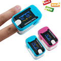 New Arrival 2 Colors 1PC OLED Fingertip Pulse Oximeter With Audio Alarm & Pulse Sound - Spo2 Monitor Finger Puls Oximeter