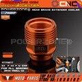 Billet rear brake reservoir extensor enfriador de orange para hornear brembo ktm xc/exc/sx/sxf 2004-n envío gratis
