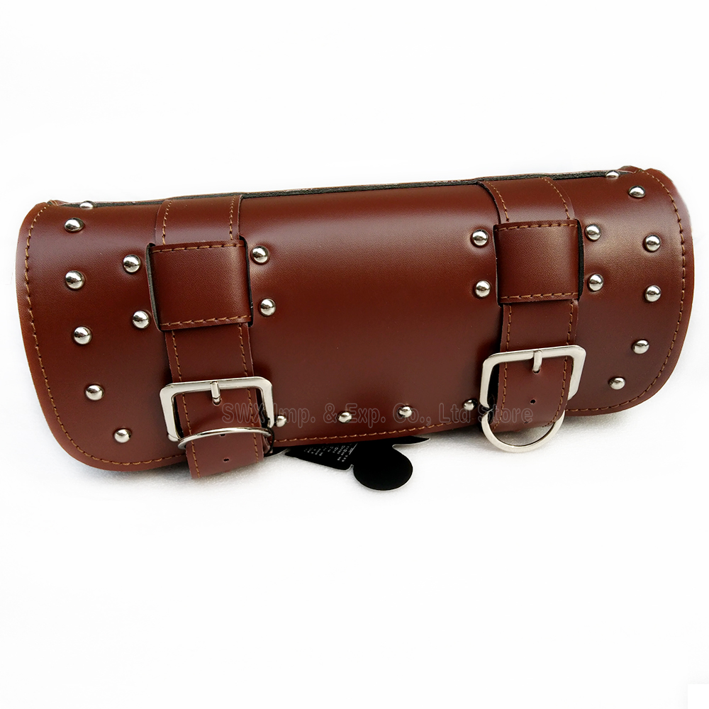 Motorcycle front Bag Sport Racing Motorbike tool case cover bag PU leather