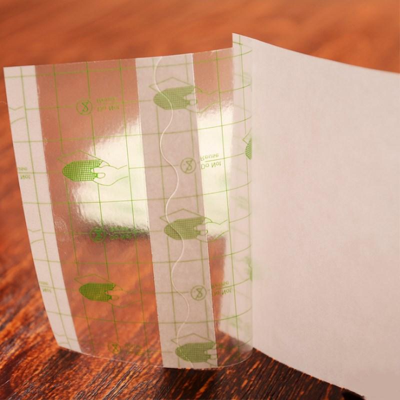 100 Pcs/lot Medical Transparent Tape PU Film Adhesive Plaster Waterproof Anti-allergic Medicinal Wound Dressing Fixation Tape