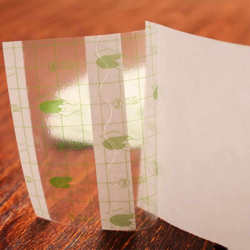 100 pçs/lote Médica Fita Adesiva Transparente filme PU Esparadrapo Impermeável Anti-alérgico Medicamento Curativo Fixation Tape