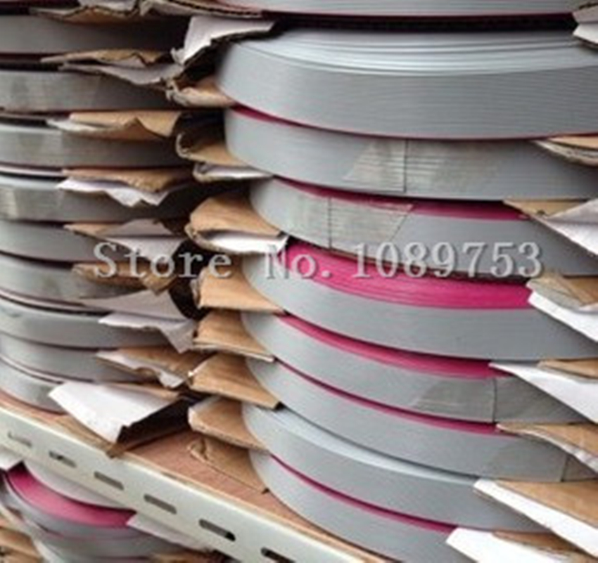 5m/lot 1.27mm Spacing Pitch 6/8/10/12/14/16/20/26/34/40 Pin Grey Flat Ribbon Data Cable Wire Connector AWG28 300V