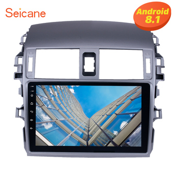 Seicane Android 8.1 2Din 9 Inch Head Unit For 2007 2008 2009 2010 Toyota OLD Corolla  Touchscreen Multimedia Player Car Radio