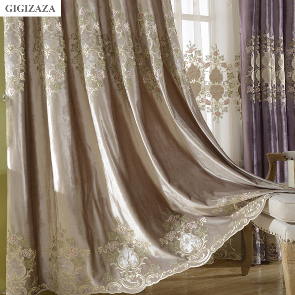 Online Buy Wholesale Luxury Silk Curtains From China