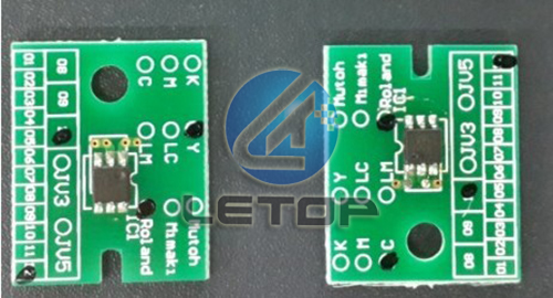 4pcs/set!!ROLAND VP540 printer chip for C/M/Y/K high quality 6 colors set roland 1000ml printer ink c m y k lc lm