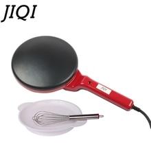 JIQI Мини электрическая блинница для пиццы приготовление блинов Сковорода Кухня антипригарное печенье сковорода китайский пружинный рулон выпечки машина ЕС
