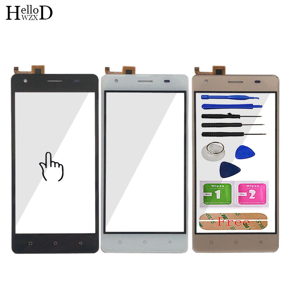 5'' Touch Screen For DEXP Ixion MS550 Touch Screen Glass Sensor Digitizer Panel Lens Glass Repari Front Glass Tools Adhesive