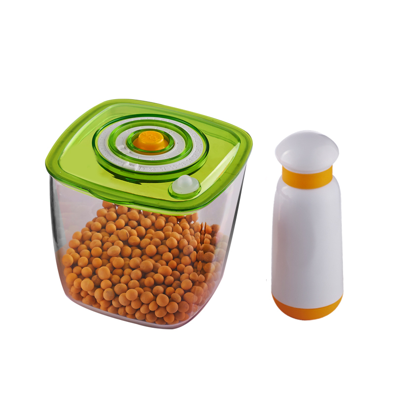 Manual Vacuum Storage Cup With Vacuum Pump Food Sealing Cup