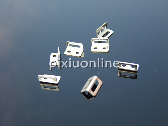 10pcs/lot K792 Right Angle Slotted Hole Sheet Iron for DIY Model ...