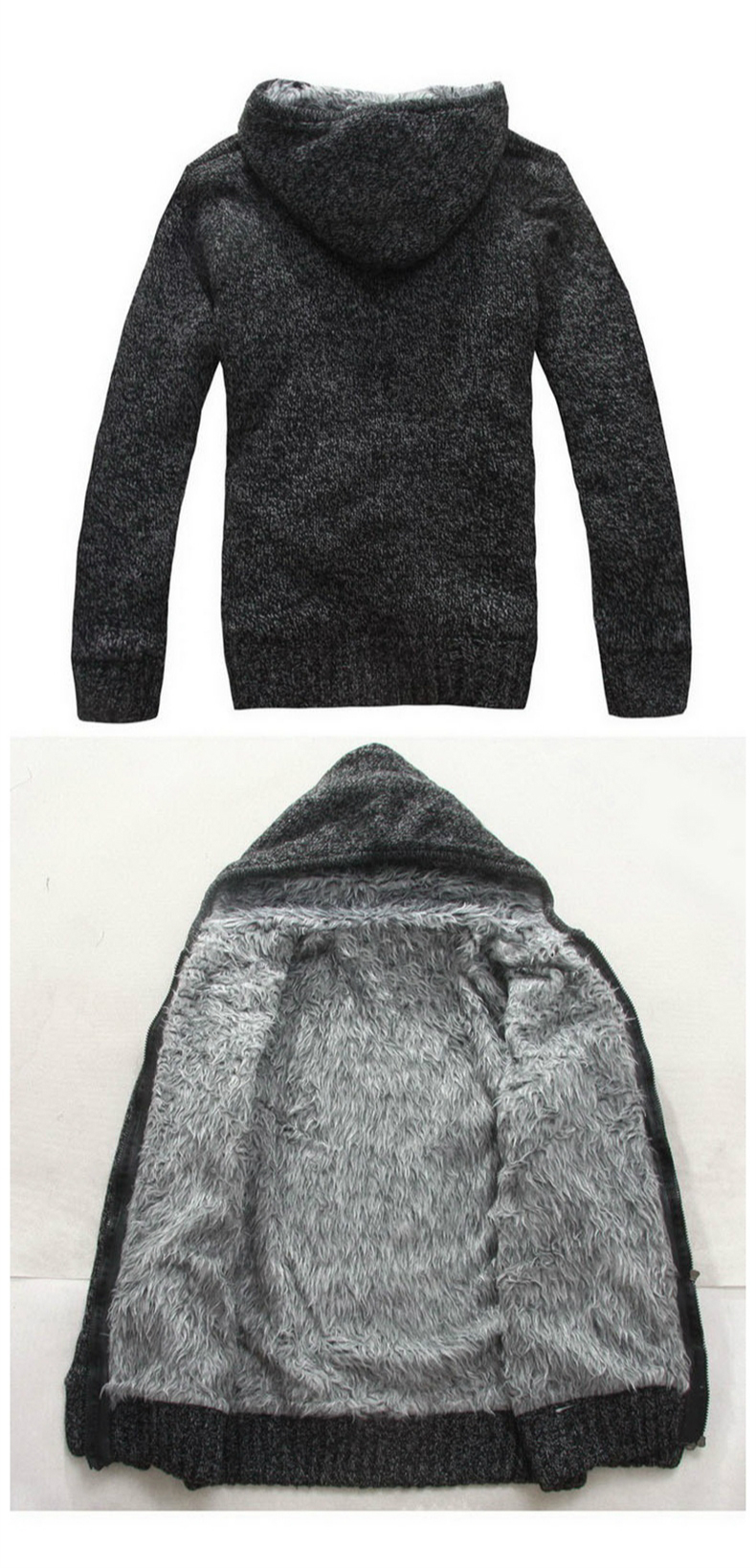 Cashmere Liner Sweaters Turn-down Collar