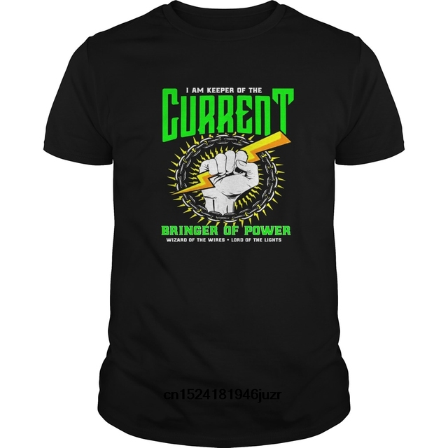 378f7b21 Funny Men t shirt Women novelty tshirt Funny Electrician Electrical  Engineer Shirt Lineman(1) cool T-Shirt