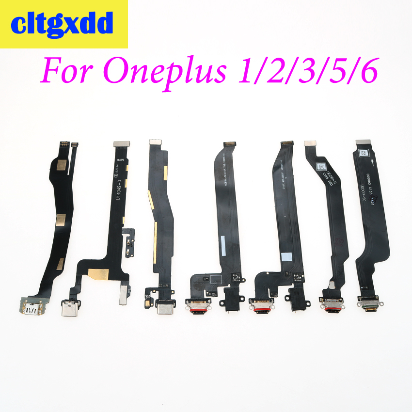 cltgxdd USB Charging <font><b>Jack</b></font> Dock Replacement Part For OnePlus 1 2 3 3T <font><b>5</b></font> 5T 6 6T Type C USB Charge Port Connector Flex Cable image