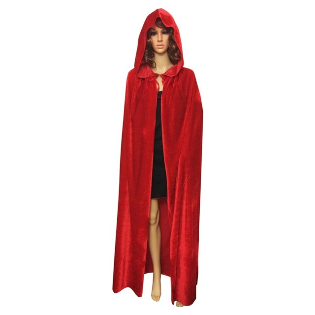 medieval witch vampire wicca cloaks and capes hooded black cloak halloween costumes for men adult women