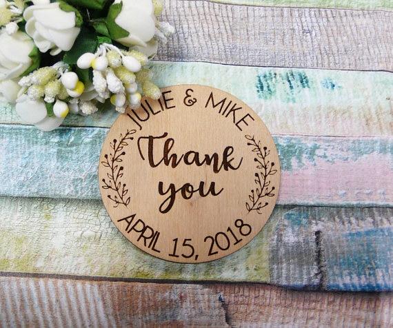 Favor Magnets Cards Wedding