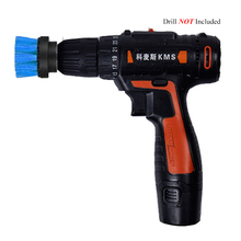 2 3.5 4 5inch Drill Power Scrub, Clean Brush For Leather Plastic Wooden Furniture Car Interiors Cleaning Blue