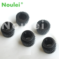 Noulei metal helical gear wheel, high precision for cnc machinery fittings 5pcs