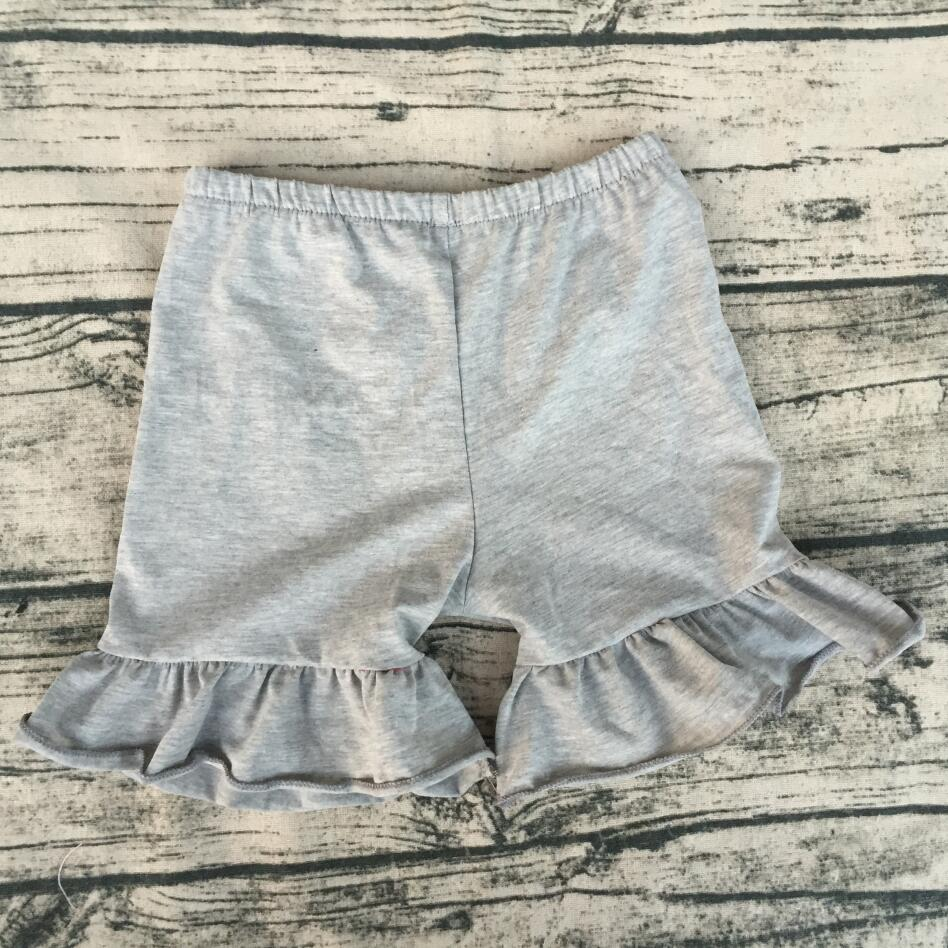 High quality chiness suppliers wholesale baby clothing usa new <font><b>bf</b></font> photo organic <font><b>children</b></font> clothing single ruffle short pants image
