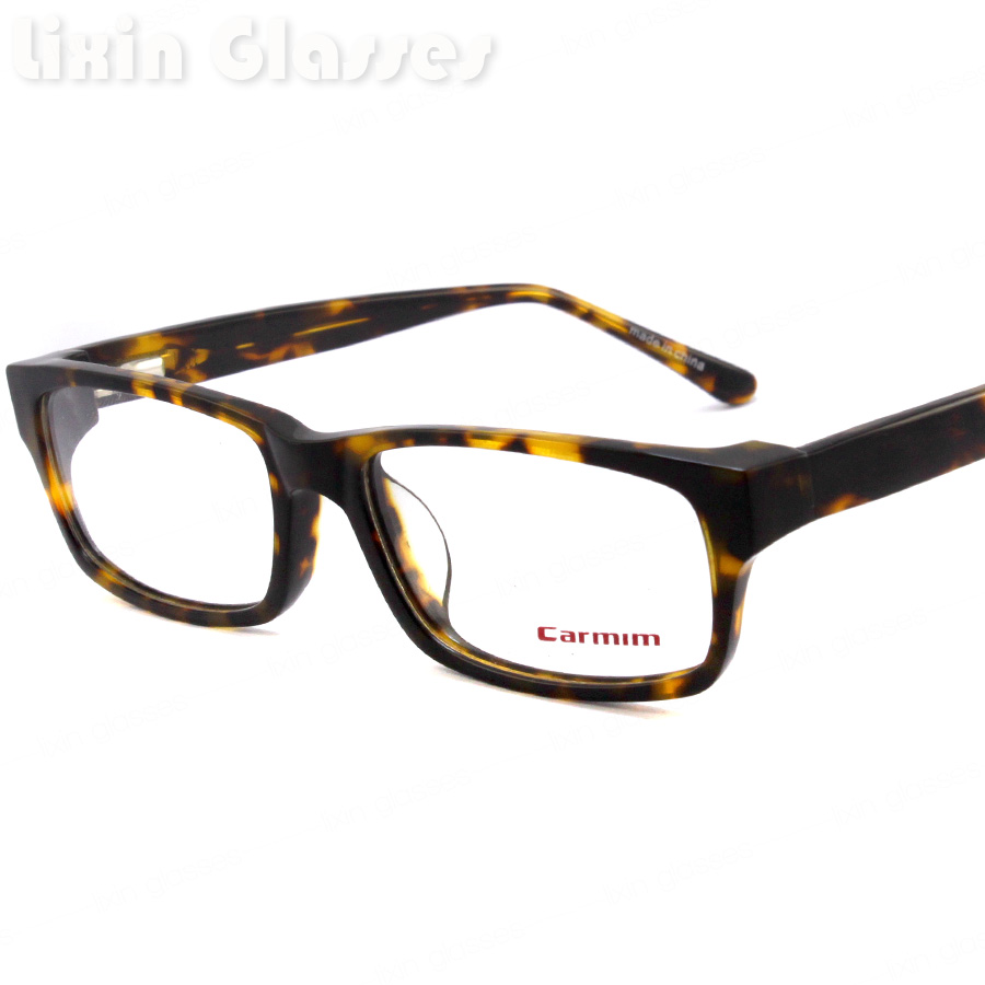 Free Shipping New Demi Color Women/Man Fashion Design Glasses Frame ...
