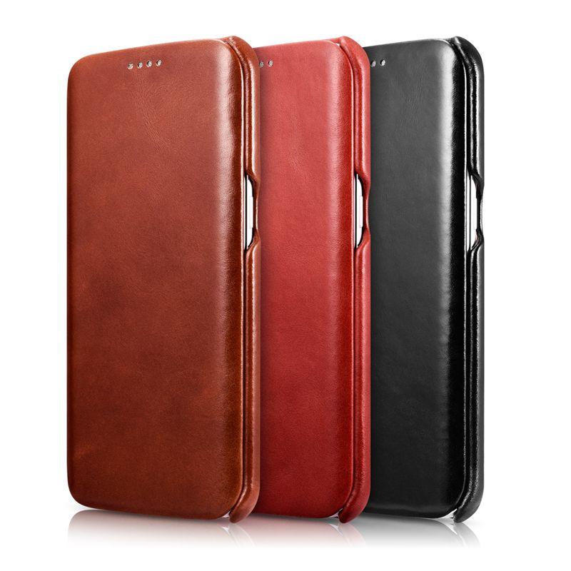ICARER Brand New Flip Case For Samsung Galaxy S7 Edge For Samsung S7 Case Bag Luxury