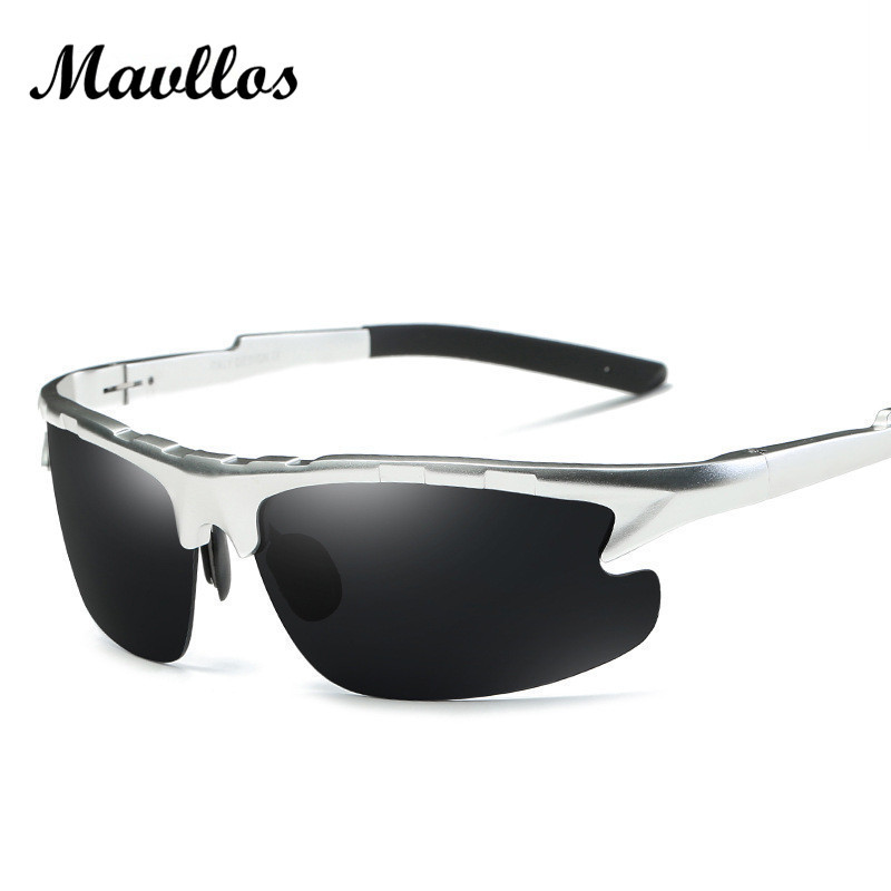Mavllos men sport polarized sunglasses Brand Designer Driver cycling Sun glasses Male Fishing Outdoor Eyewear For Men