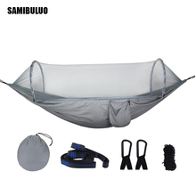SAMIBULUO Outdoors  Automatic Fast Easy Hammock With Mosquito Net Tree Tent Portable Lightweight Hammocks