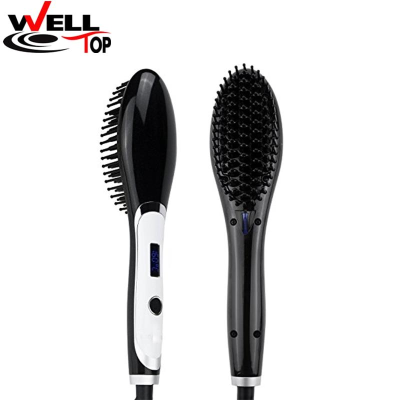 New Magic Beauty Tools Anion Hair Styler Electric Hair Straightener Comb Hair Straightening Brush magic hair 2015 gorra unprocesseds from16 18 20 22 24 magic 100