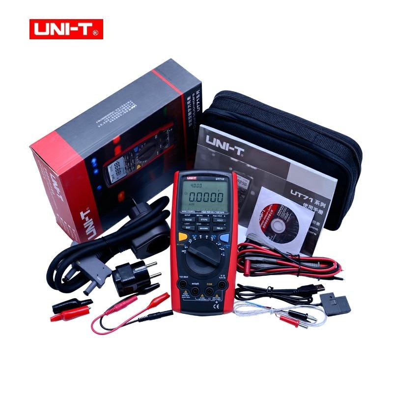 Numérique Multimètre UNI-T UT71 UN UT71B UT71C UT71E Ture Rms Multimètre gamme Automatique 39999 AC/DC tension avec LCD rétro-éclairage affichage