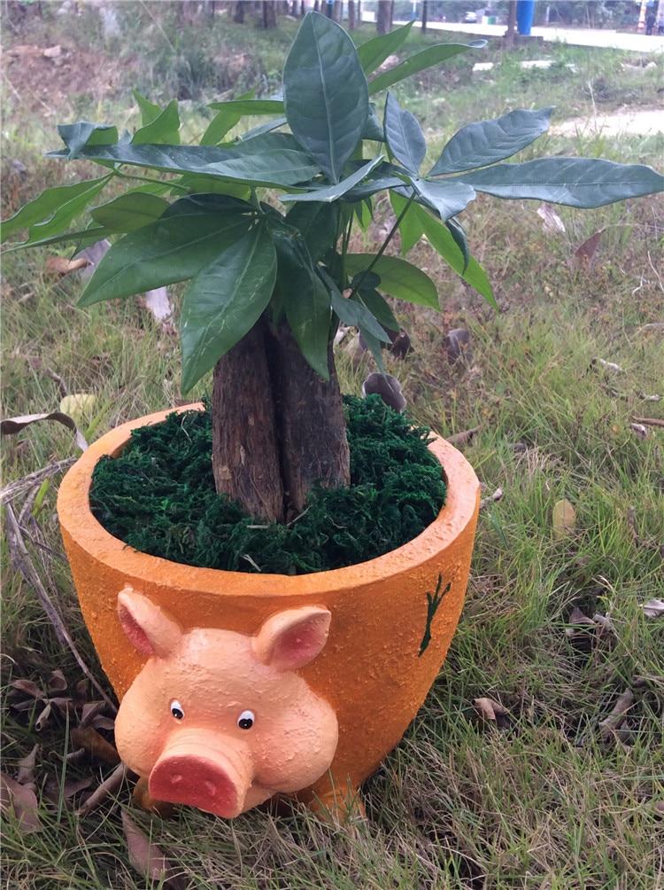 Buy fibre glass novelty pig flower pot - Macetas fibra de vidrio ...