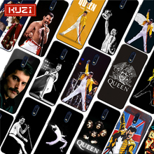 Freddie Mercury Queen band Soft Silicone Phone Case for oneplus one plus 7 pro 7 6 6t 5t