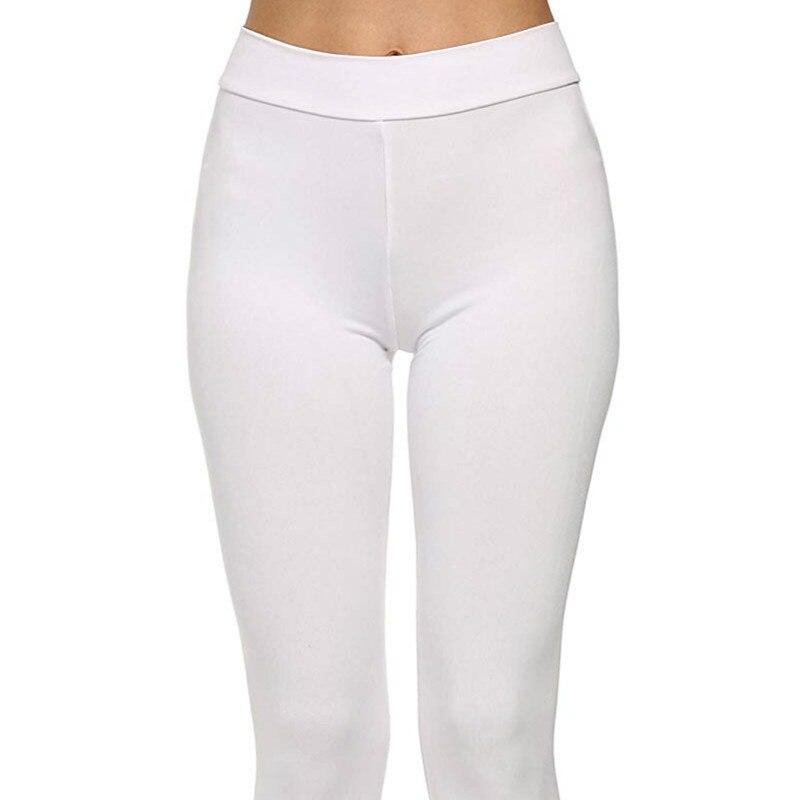 59 stuk wearella Womens High Waisted Workout Panty Full Length Yoga Casual Button Fly Low Geplooide-in Broek & capris van Dames Kleding op  Groep 1