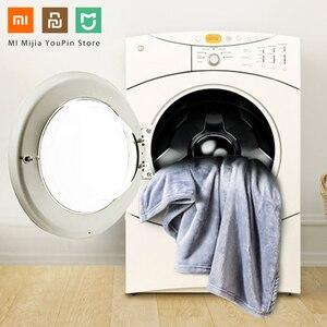 Image 2 - Nieuwe Xiaomi Mijia Como Living Flanel Effen Warme Fluwelen Antibacteriële Deken Anti Statische Voor Lakens En Office Home 3 kleuren