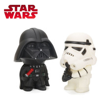 11cm Star Wars Toy Master Yoda Darth Vader Stormtrooper Action Figure The Force Awakens Jedi Yoda Anime Figures Lightsaber