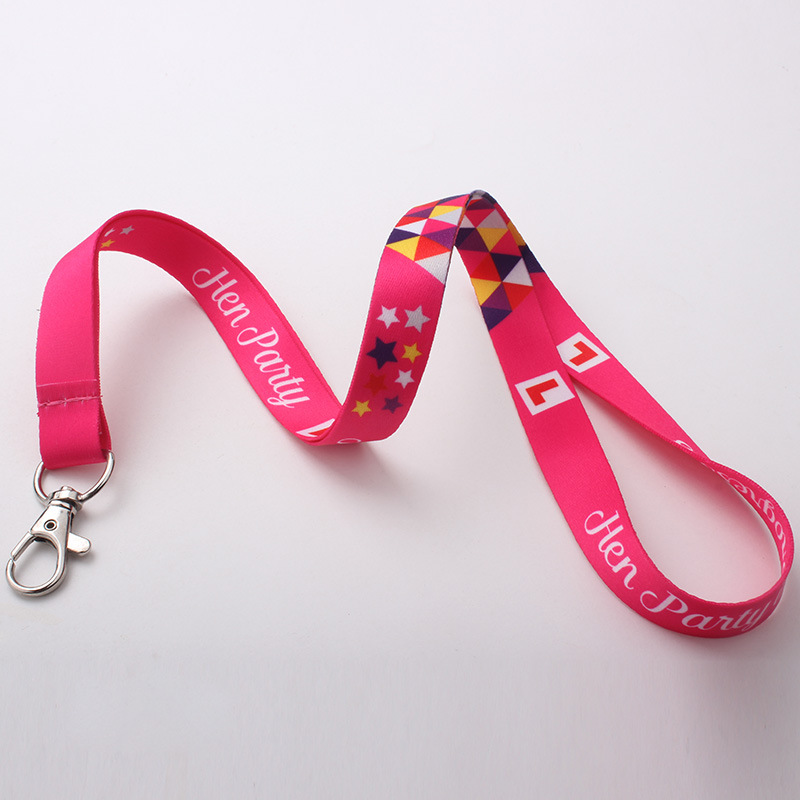 Image 5 - 250pcs/lot DHL free shiping Customized lanyard 20mm wide sublimation polyester lanyard Heat Transfer Logo,Custom lanyards-in Mobile Phone Straps from Cellphones & Telecommunications