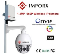 PTZ Wireless IP Camera IR IP High Speed Dome Camera Support IPhone IPad Audio 960P 1